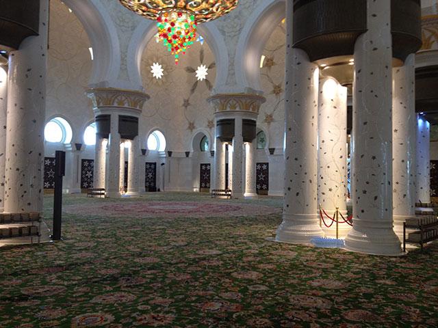 Scheich Zayid Moschee Eindruck