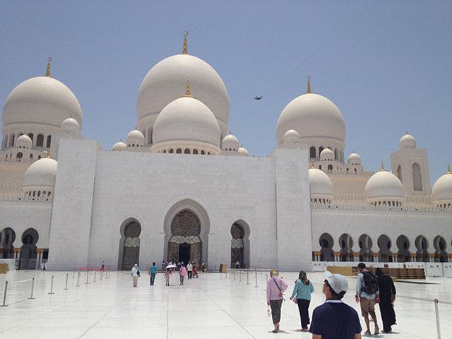 Scheich Zayid Moschee von innen