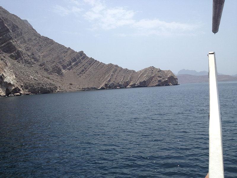 Dhau fahrt Oman