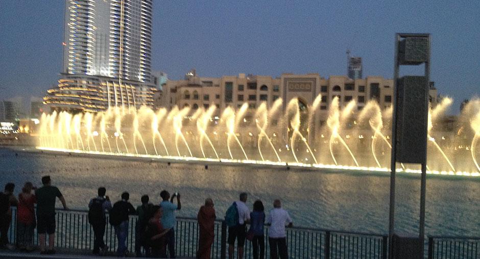 Dubai Fontäne