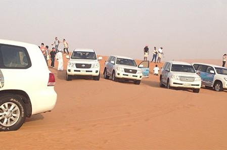 Dubai Wüstentour