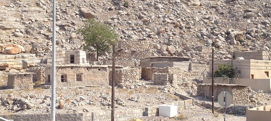 Häuser im Oman