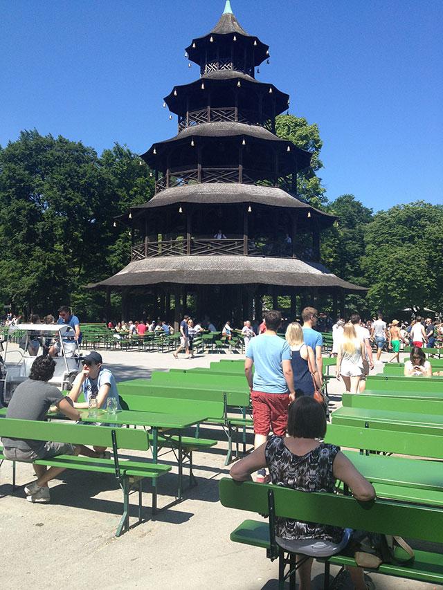 Chinesische Turm München