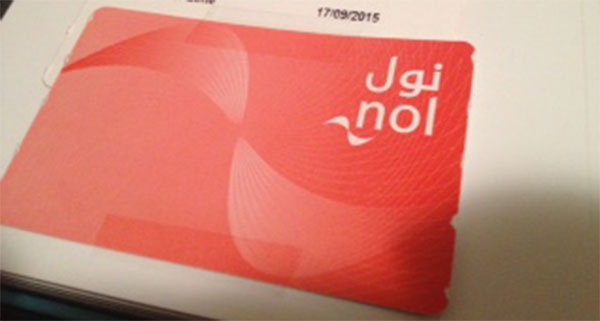 Dubai Metro Ticket