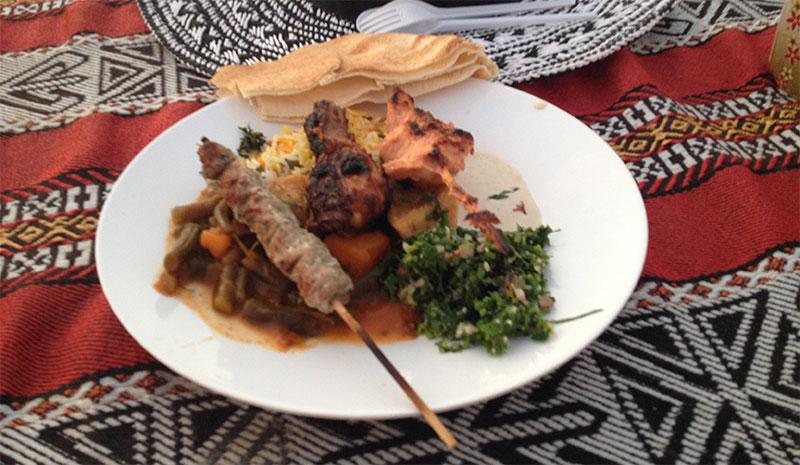 Essen in Dubai