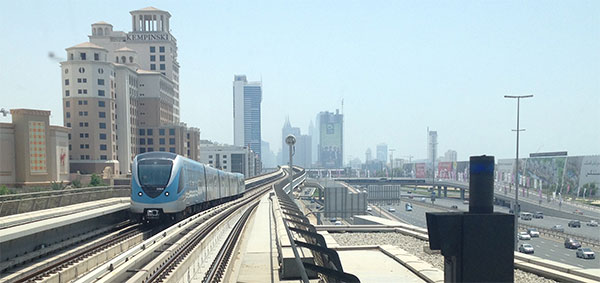 Metro in Dubai