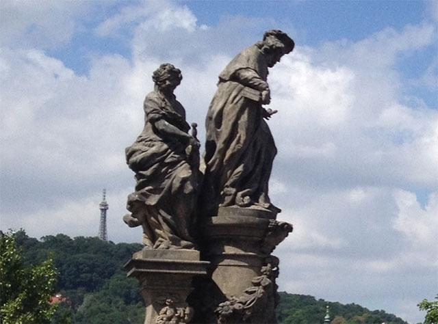 Figuren Karlsbrücke