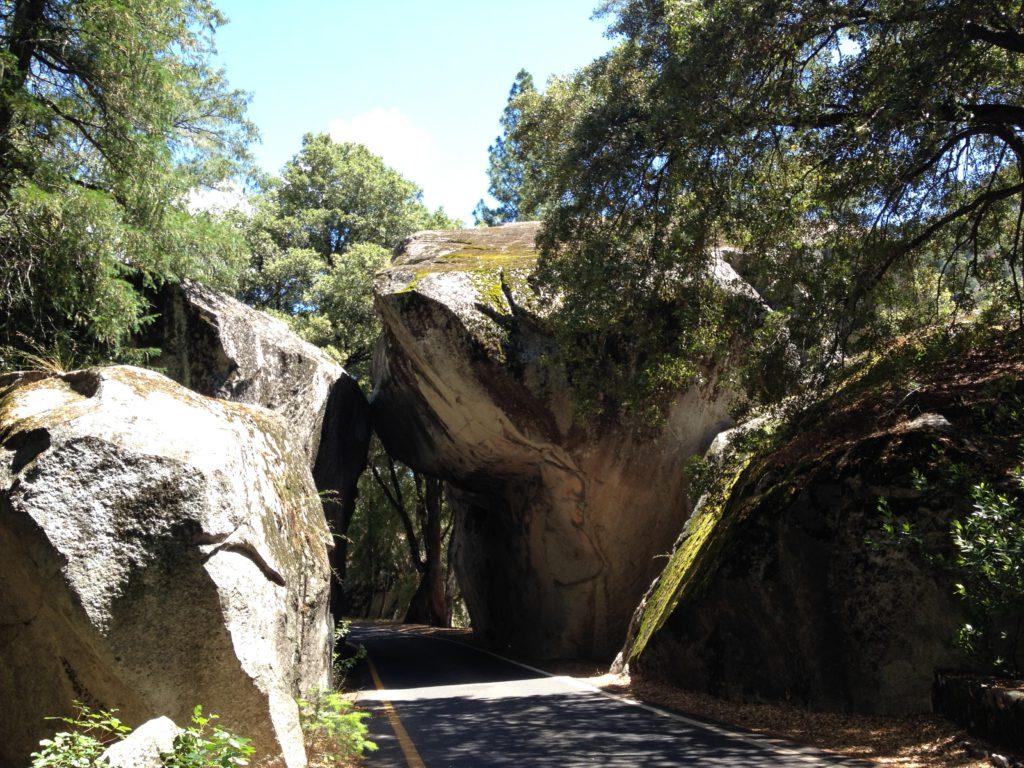 Einfahrt zum Yosemite National Park