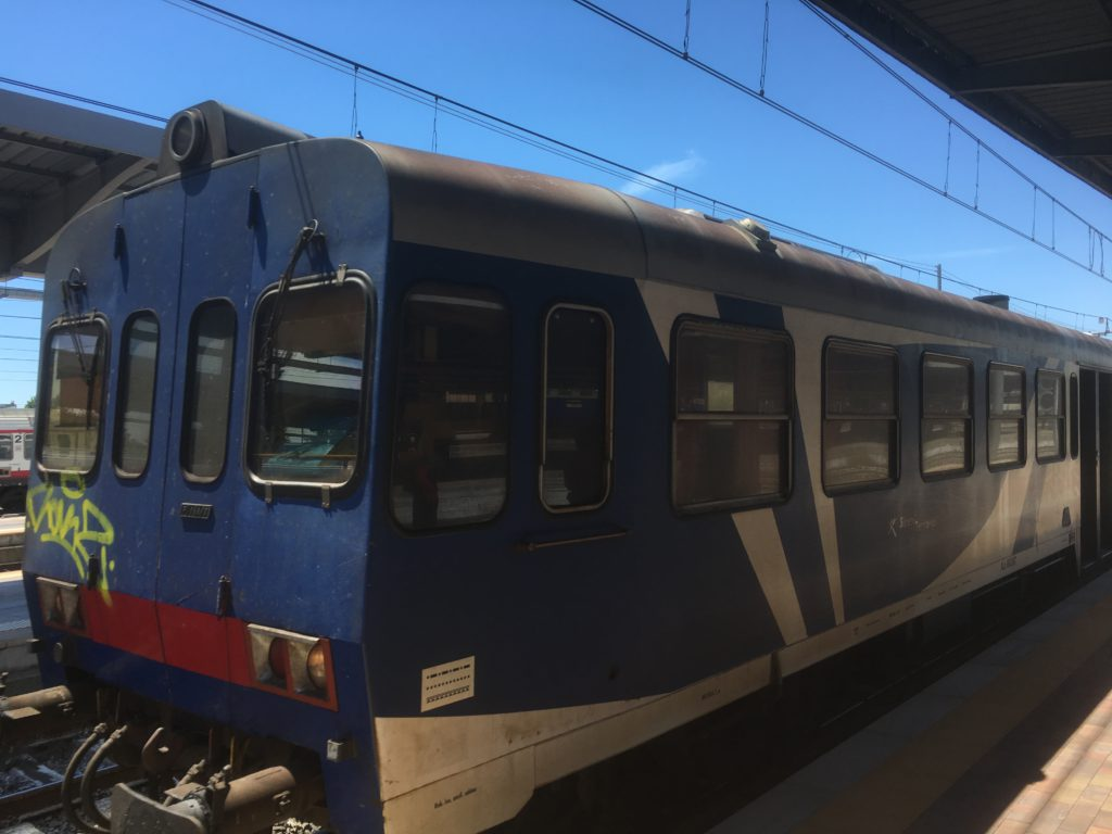 Zug nach Venedig