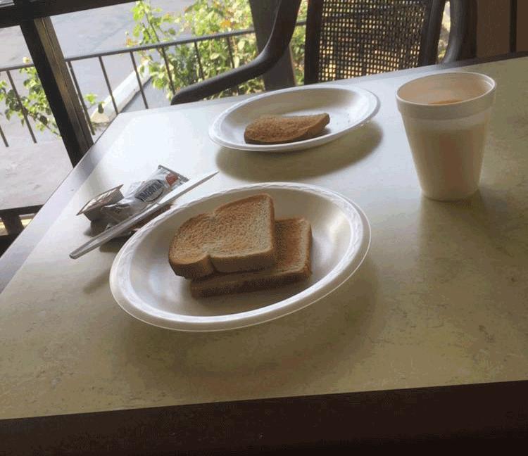 Frühstück in Amerika