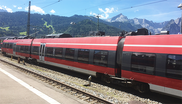 Hauptbahnhof Garmisch Partenkirchen