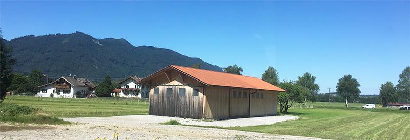 Zugfahrt nach Garmisch Partenkirchen