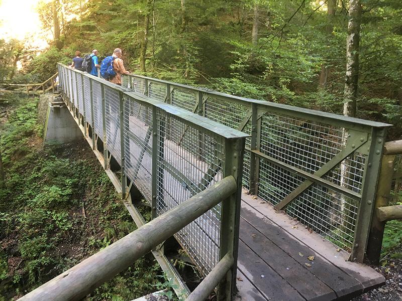 Eiserne Brücke Partnachklamm