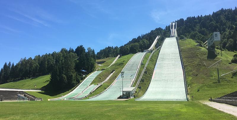 Garmisch Partenkirchen Skisprungschanze
