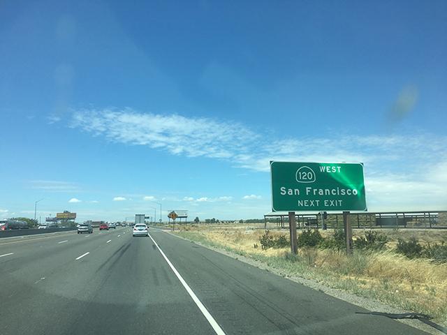 Fahrt von Las Vegas nach San Francisco