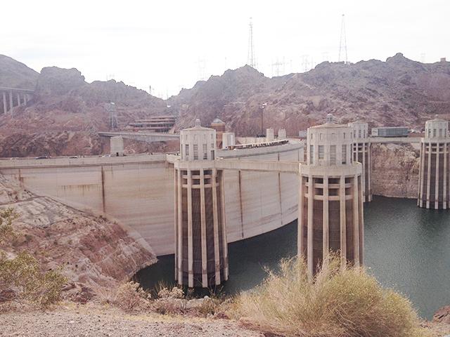 Entnahmetürme am Hoover Dam