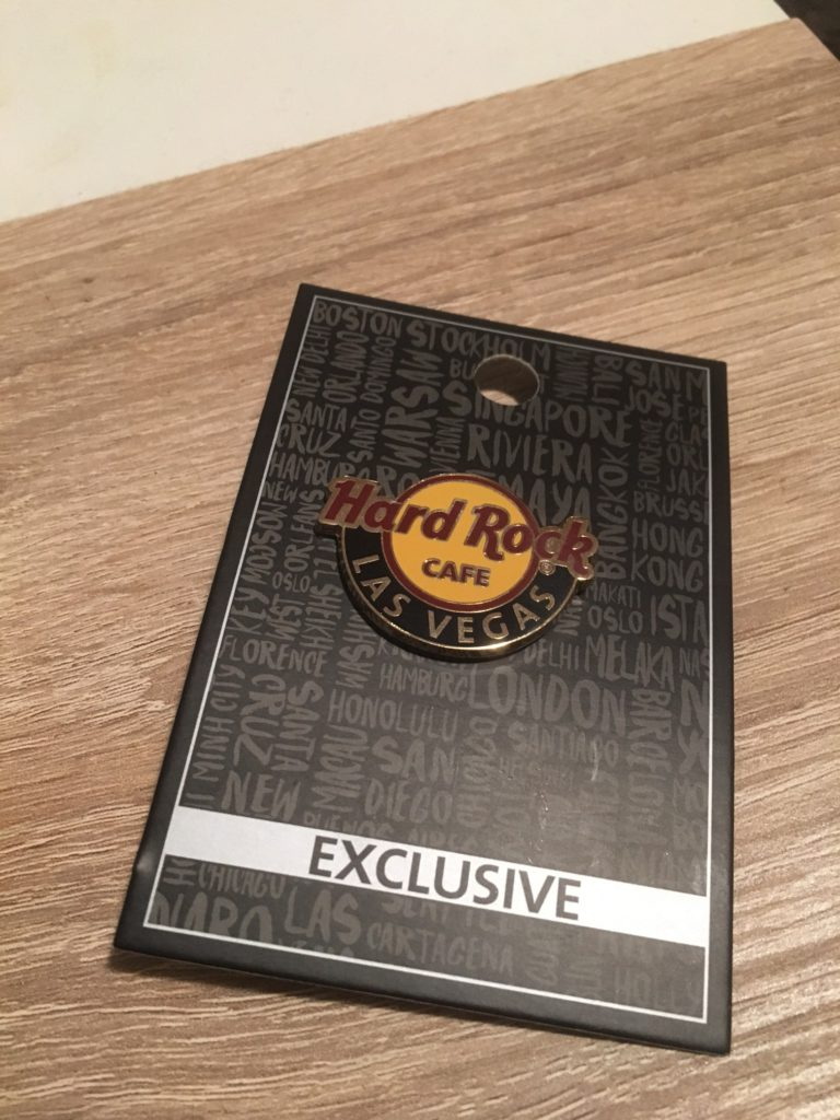 Hard Rock Cafe Pin - Las Vegas
