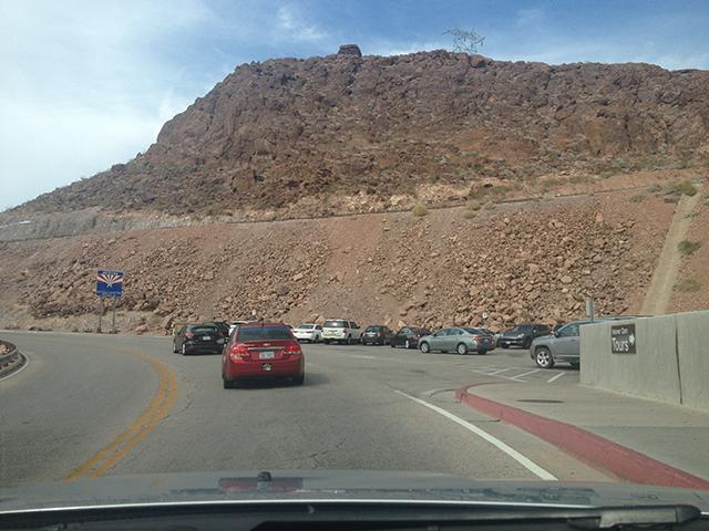 Kostenlose Parkplätze am Hoover Dam