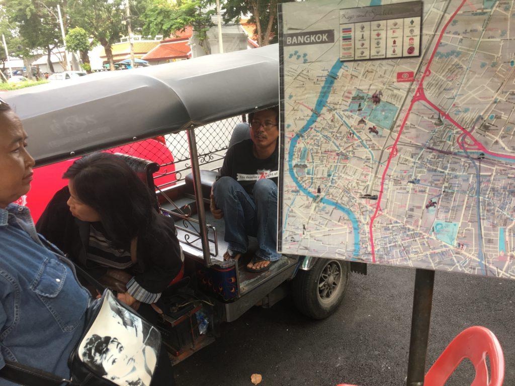Tuk Tuk Honigfalle in Bangkok