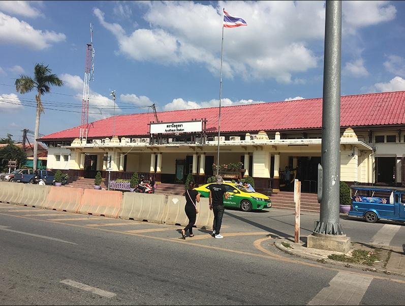 Ayutthaya Hauptbahnhof