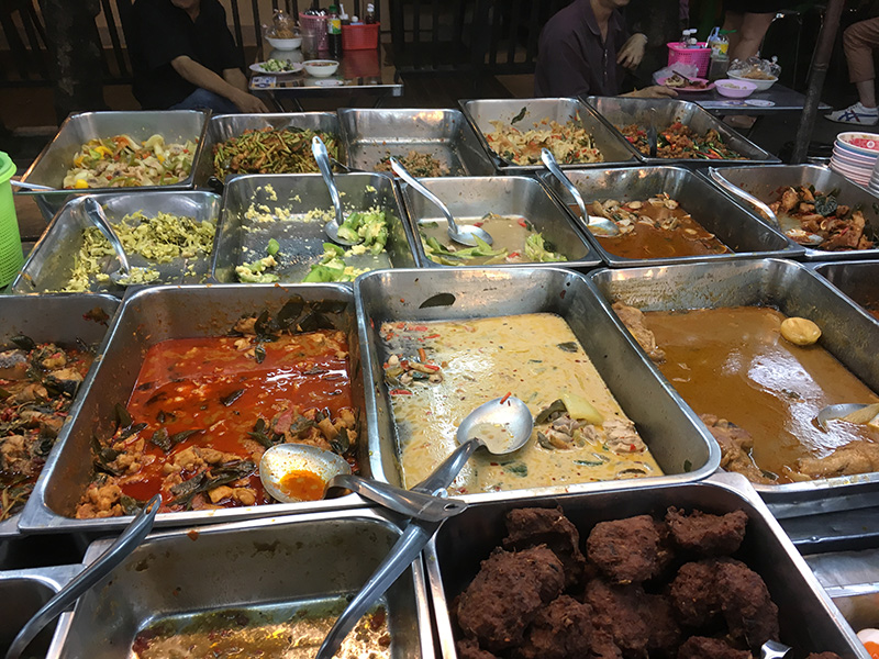 Bangkok - Garküche in Chinatown