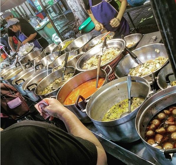 Garküchen in Chinatown Bangkok