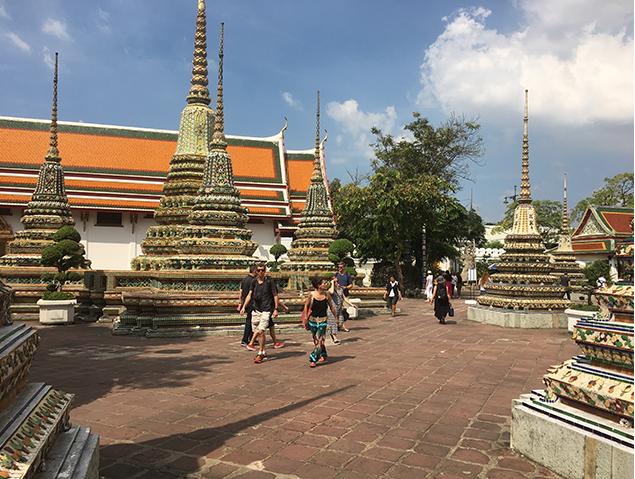 Tempelanlage im Wat Pho