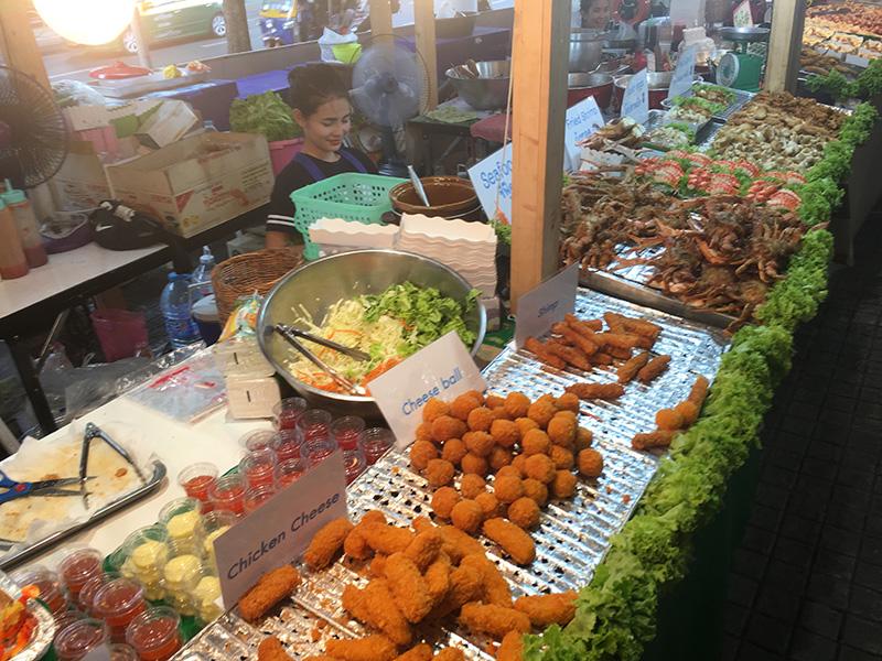 Thailändische Küche in Bangkok