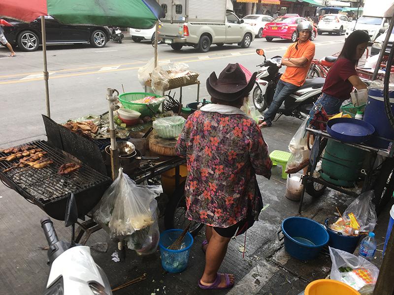 Thailand - Echte Garküche in Bangkok