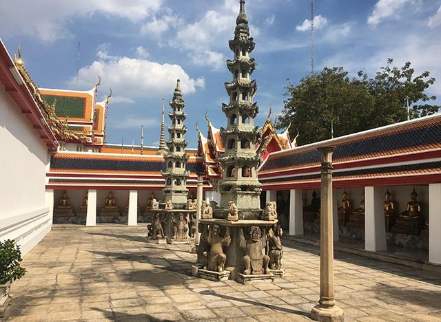Wat Pho Architektur
