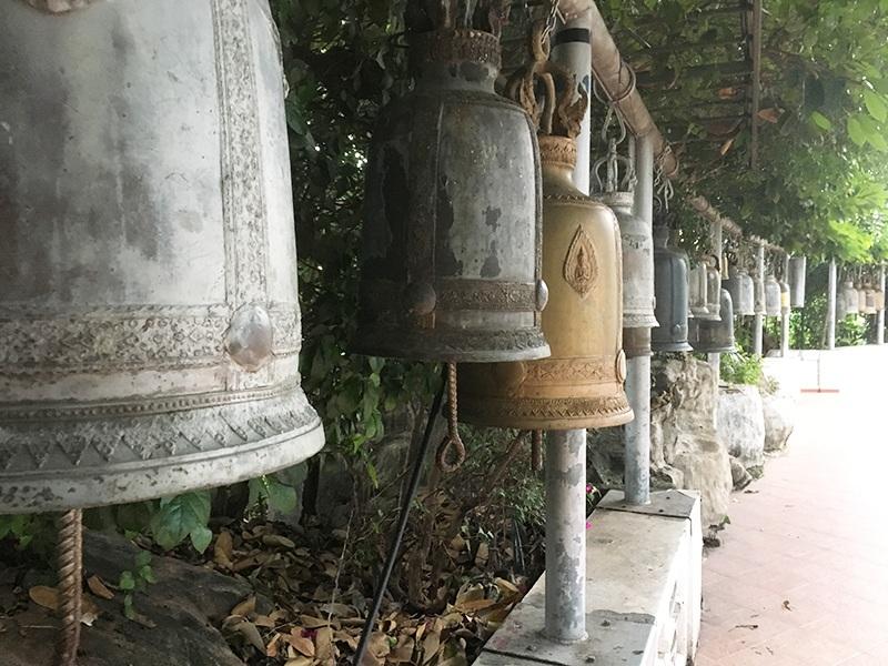 Glocken - Tempel in Bangkok