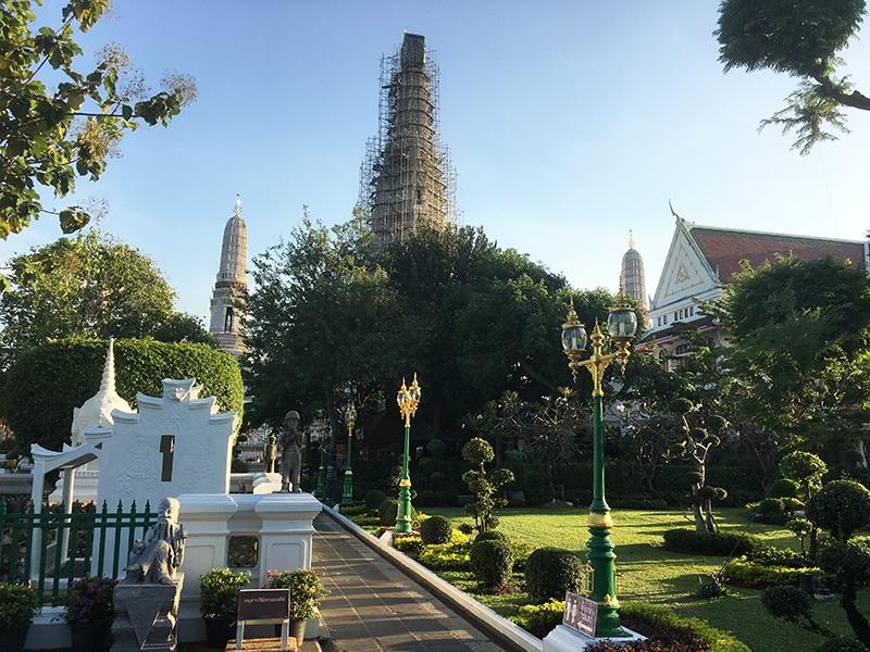 Wat Arun Garten