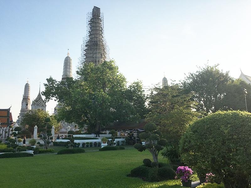 Wat Arun Tempelanlage