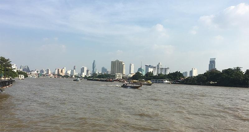 Chao Phraya Fluß in Bangkok