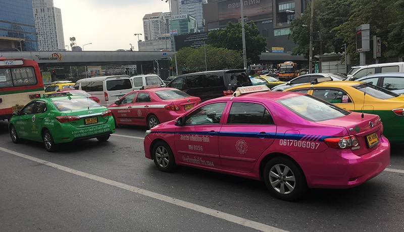 Taxi in Thailand