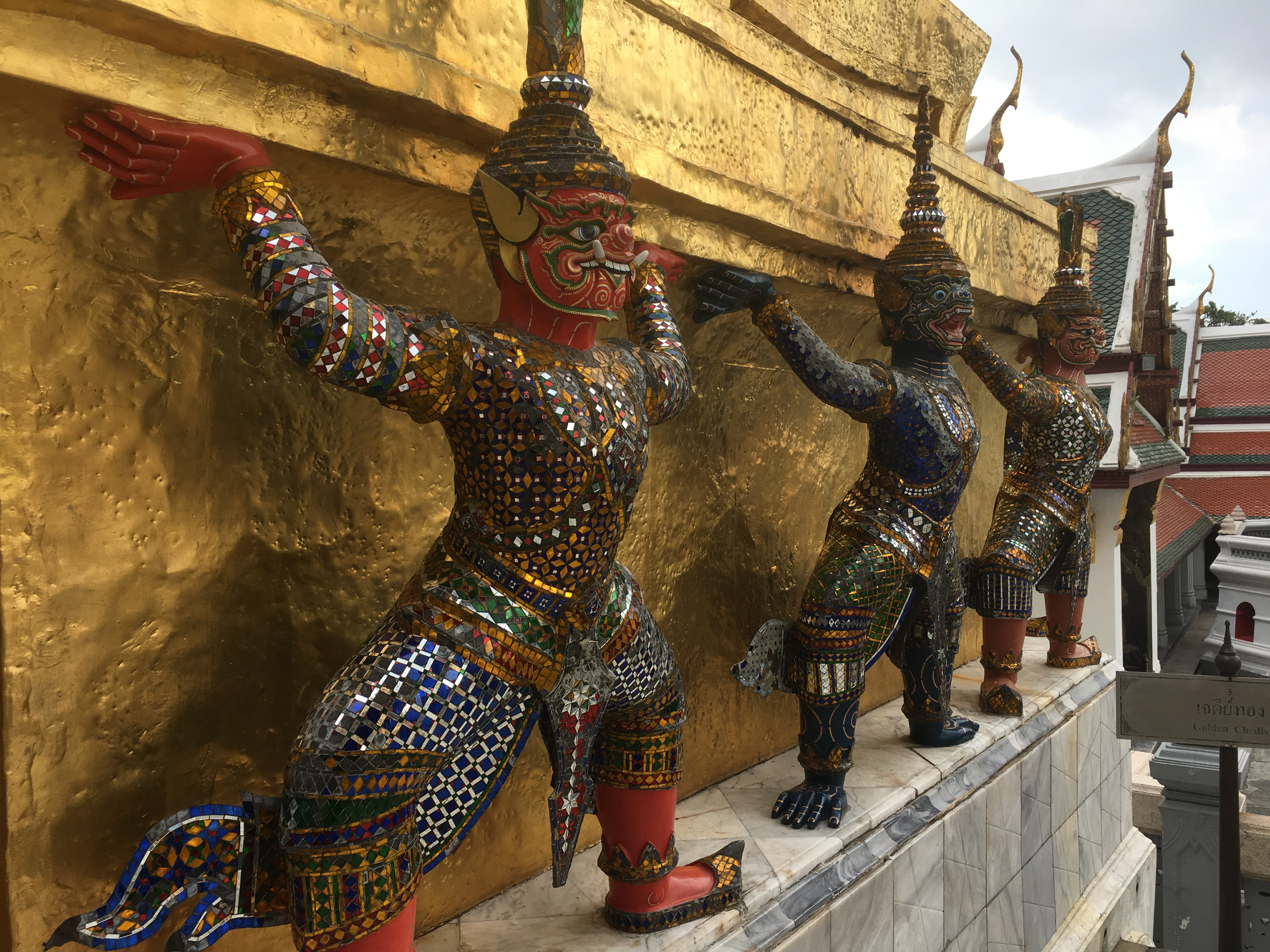 Wat Phra Khaeo - Bangkok 10