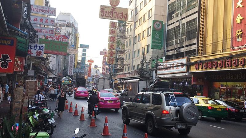 Einkaufen in Chinatown