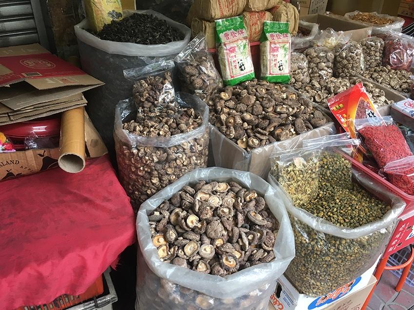Markt in Chinatown - Bangkok
