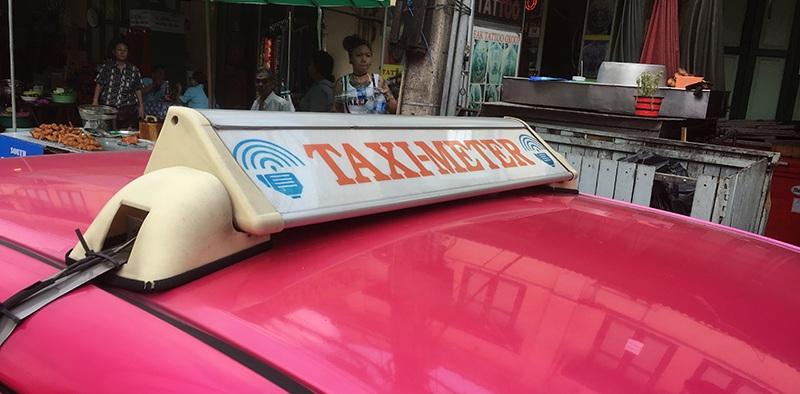 Taximeter in Bangkok