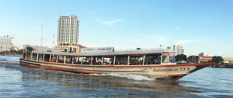 Wassertaxi in Bangkok