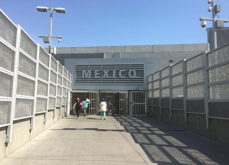 Mexiko Grenzübergang