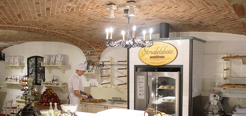 Apfelstrudelshow - Cafe Residenz