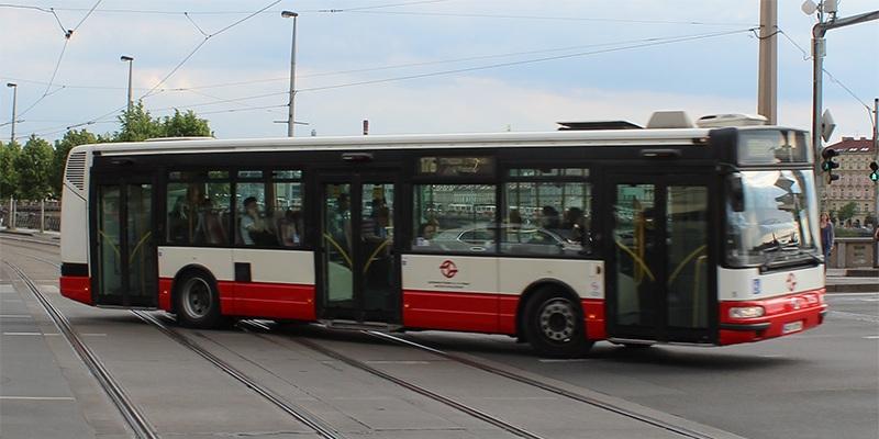 Bus in Prag