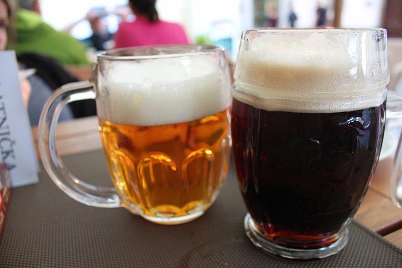 Dunkles Bier in Tschechien