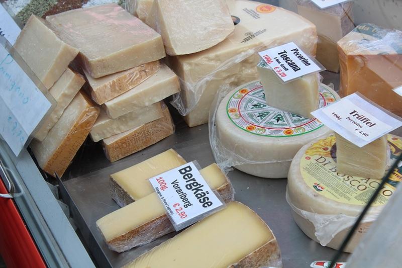 Käse Naschmarkt in Wien