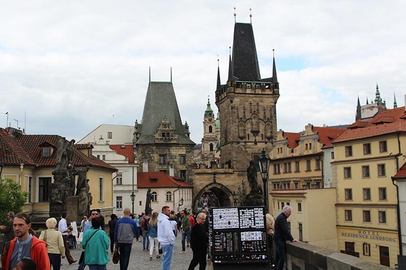 Kleinseitner Brückenturm in Prag