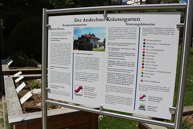 Kloster Andechs - Kräutergarten