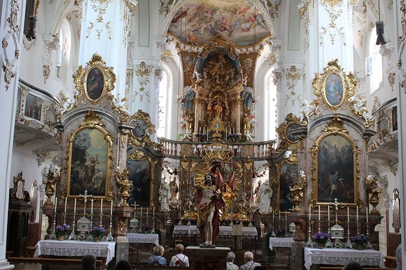 Kloster Andechs von innen