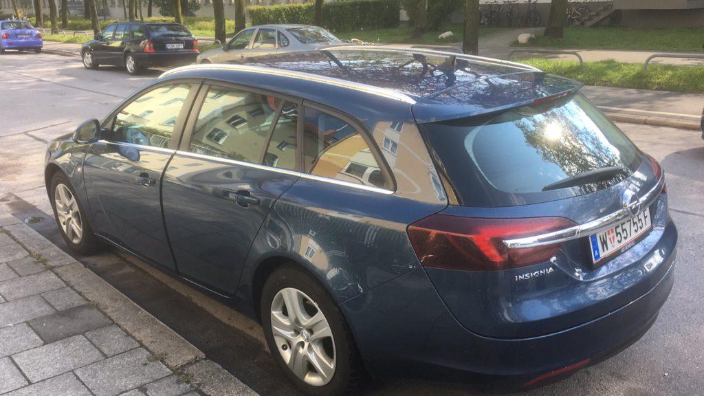 Opel Insignia - Mietwagen