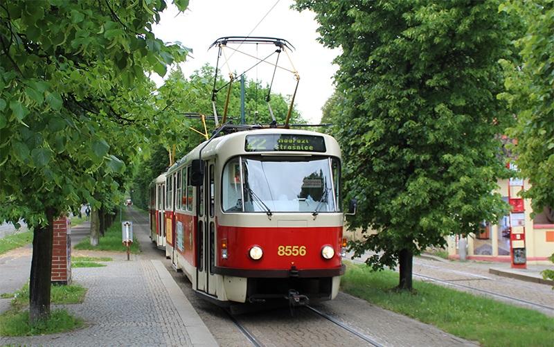 Tram 22 in Prag